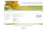 Bild Webseite Frau Dr. med. Stephanie Rösing Köln