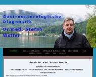 Praxis f?r gastroenterologische Diagnostik Dr. med. Stefan WOLFER