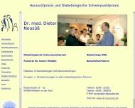 Bild Neusüß Dieter Dr. med. Facharzt für Innere Medizin-Naturheilverfahren