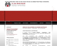 Website Schmidt Sybille Fachärztin für Innere Medizin