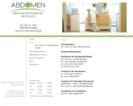 Website Abdomen-München Kurjak Manfred Priv. Doz. Dr. Internist