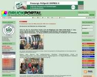 Website IGT Colordruck