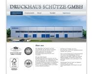 Bild Druckhaus Schütze GmbH
