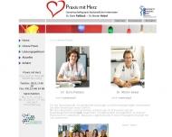 Website Paßlack Doris Dr. Gemeinschaftspraxis u. Hebel Martin Dr.