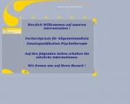 Bild Webseite Heinemann Oliver Dr.med. Facharzt für Allgemeinmedizin München
