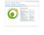 Website Mündel Werner Dr.med. Internist