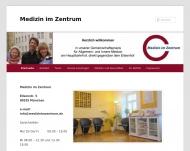 Bild Webseite Medizin im Zentrum Gemeinschaftspraxis für Innere Medizin München