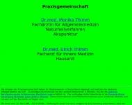 Bild Thimm Monika Dr.med. Fachärztin für Allgemeinmedizin , Ulrich Dr.med. Facharzt für Innere Medizin