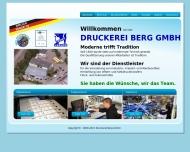 Bild Druckerei Berg GmbH