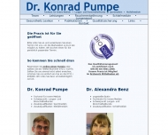 Website Pumpe Konrad Dr.med.