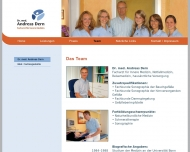 Website Dern Andreas Dr. Facharzt für Innere Medizin