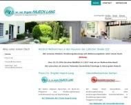 Bild Webseite Lang Josef Dr.med. Arzt für Inn. Med. , Hajeck-Lang Brigitte Dr.rer.nat. Prakt. Ärztin Aachen