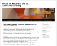 Bild Mauckner Alexander Dr.med. Facharzt für Innere und Allgemeinmedizin , Zimmermann-Icking Ursula Dr.med. Fachärztin für Allgemeinmedizin