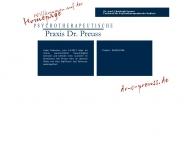 Bild Webseite Preuss Christoph Dr. med. Arzt für Psychosomatische Medizin u. Psychotherapie Lübeck