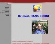 Bild Sohni Hans Dr.med. Arzt Psychoth.Medizin u.Kinder-u.Jug.Psychiat. Psychoanalyse