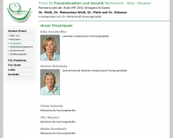 Website Weiß Henning Dr.med. Arzt für Frauenheilkunde und Geburtshilfe