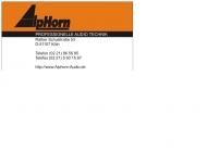 Bild Alphorn Audiotechnik