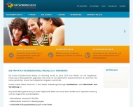 Bild Webseite Mesale Nürnberg