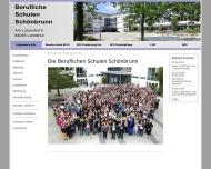 Bild Berufl.Schulen Schönbrunn, BS IV Landshut, BFS Hauswirtschaft, BFS Kinderpflege