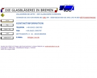 Bild Webseite Artec Glasbläserei Design + Technik Inh. Albrecht Rämisch Bremen