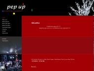 Bild Webseite pep up Werbegestaltung Bremen