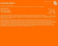 Bild Webseite Schuller Design München