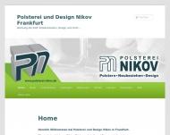 Bild Webseite Raumausstattung Nikov Frankfurt