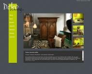 Bild Webseite DEKO - LEASING München