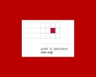 Bild Webseite Grafik + Dekoration Uwe Vogt Frankfurt