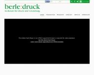 Bild Webseite Berle Druck Kaarst