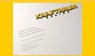 Bild Webseite Kraftraum Design München
