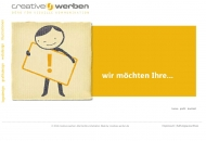 Website Creative's Werbegestaltung