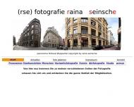 Bild Webseite Seinsche Raina Se - Design Wuppertal