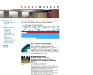 Website Neues Museum