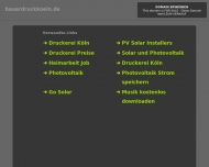 Bild Webseite bauer druck köln Köln