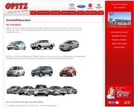 Website Autozentrum Opitz