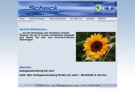 Bild Webseite Ferdinand Scheick Inh. Robert Späth Oberpöring
