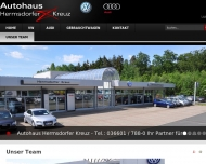 """Website Autohaus""""Hermsdorfer Kreuz"""""""