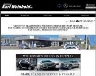 Autohaus Weinhold, Autorisierter Mercedes-Benz Service und Vermittler