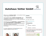Bild Autohaus Vetter GmbH