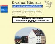 Bild Druckerei Tübel GmbH