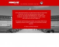 Bild mini-car und gro-car Funk mietwagen- Personalbeför derungs- und Sachtransport