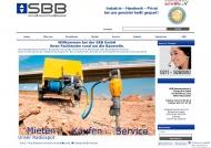 Bild SBB Baumaschinen und Baugeräte GmbH