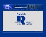 Bild Fritz Rudolph GmbH Bauunternehmen Hoch-,Tief-, Stahlbetonbau