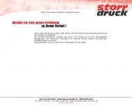 Bild Webseite Storr-Druck München