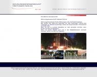 Website Wohnungsgenossenschaft Treptower Park eG