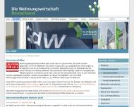 Bild Webseite  Feuchtwangen