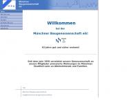 Website Münchner Baugenossenschaft eG - Werkstatt