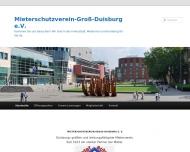 Bild Mieterschutzverein Groß-Duisburg e.V. Hauptgesch.Stelle