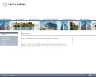 Website Development und Wohnbau Groth